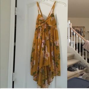 Free People Tops - Free People floral tunic size S